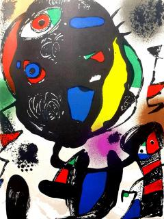 Joan Miro Joan Miro Original Abstract Lithograph 1981 - 1077591
