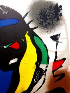 Joan Miro Joan Miro Original Abstract Lithograph 1981 - 1077592