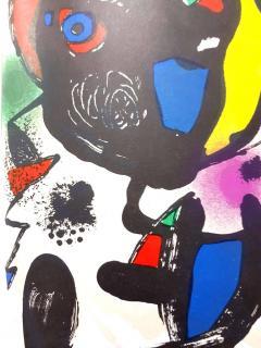 Joan Miro Joan Miro Original Abstract Lithograph 1981 - 1077593