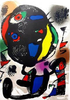 Joan Miro Joan Miro Original Abstract Lithograph 1981 - 1077643