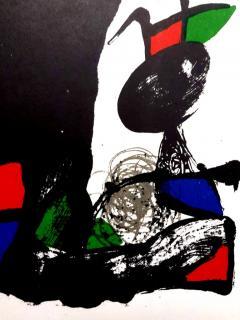 Joan Miro Joan Miro Original Abstract Lithograph 1981 - 1077607