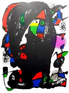 Joan Miro Joan Miro Original Abstract Lithograph 1981 - 1077608