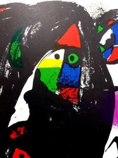 Joan Miro Joan Miro Original Abstract Lithograph 1981 - 1077610