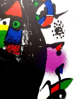 Joan Miro Joan Miro Original Abstract Lithograph 1981 - 1077611
