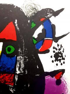 Joan Miro Joan Miro Original Abstract Lithograph 1981 - 1077612