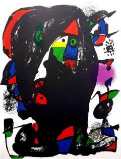 Joan Miro Joan Miro Original Abstract Lithograph 1981 - 1077644