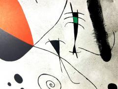 Joan Miro Joan Miro Original Lithograph from Derriere le Miroir 1964 - 1077676