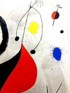 Joan Miro Joan Miro Original Lithograph from Derriere le Miroir 1964 - 1077677