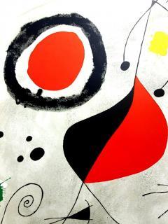 Joan Miro Joan Miro Original Lithograph from Derriere le Miroir 1964 - 1077678