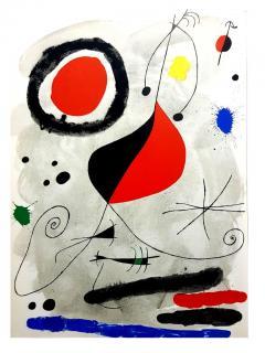 Joan Miro Joan Miro Original Lithograph from Derriere le Miroir 1964 - 1077679