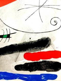 Joan Miro Joan Miro Original Lithograph from Derriere le Miroir 1964 - 1077681