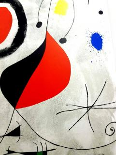 Joan Miro Joan Miro Original Lithograph from Derriere le Miroir 1964 - 1077683