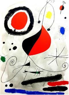 Joan Miro Joan Miro Original Lithograph from Derriere le Miroir 1964 - 1077950