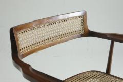Joaquim Tenreiro Mid Century Modern Armchair by Brazilian Designer Joaquim Tenreiro Set of 2 - 1212797
