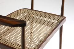 Joaquim Tenreiro Mid Century Modern Armchair by Brazilian Designer Joaquim Tenreiro Set of 2 - 1212800