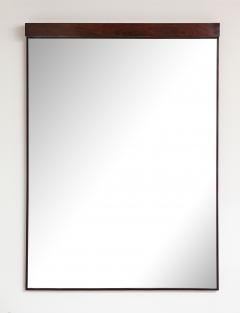 Joaquim Tenreiro Mid Century Modern Wall Mirror with Built in Light by Joaquim Tenreiro Brazil - 1615488