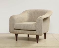 Joaquim Tenreiro Pair of Curved Lounge Chairs by Joaquim Tenreiro - 1045302