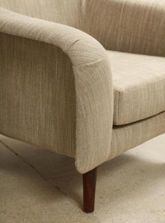 Joaquim Tenreiro Pair of Curved Lounge Chairs by Joaquim Tenreiro - 1045304