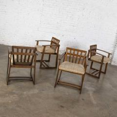 Jobie G Redmond Stavoak dining game table 4 chairs from jack daniels barrel staves by jobie - 1765298