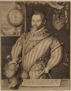 Jodocus Hondius SIR FRANCIS DRAKE - 1405641