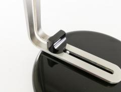 Joe Colombo Black Flash Table lamp by Joe Colombo for O Luce 1970s - 696379