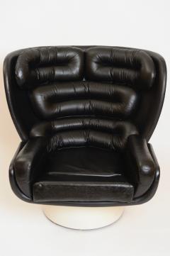 Joe Colombo Black and White Elda Chair by Joe Colombo Italy c 1960 - 1089352