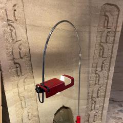 Joe Colombo Joe Colombo Architectural Red Spider Task Desk Lamp for Oluce Italy 1969 - 2083213