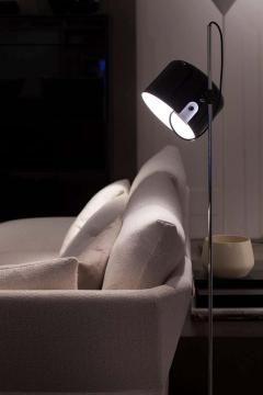 Joe Colombo Joe Colombo Model 3321 Coup Floor Lamp in Black for Oluce - 1640220