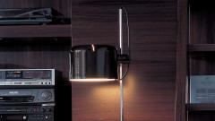 Joe Colombo Joe Colombo Model 3321 Coup Floor Lamp in Black for Oluce - 1640222