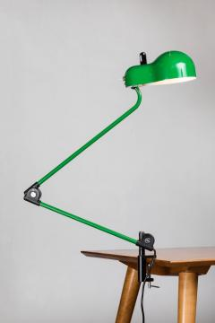 Joe Colombo Joe Colombo Topo Green Task Lamp for Stilnovo circa 1970 - 616211