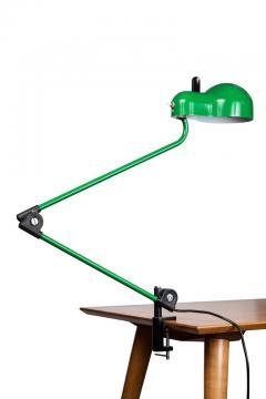 Joe Colombo Joe Colombo Topo Green Task Lamp for Stilnovo circa 1970 - 616212