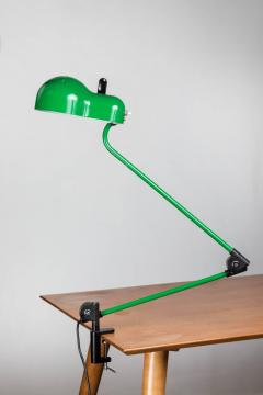 Joe Colombo Joe Colombo Topo Green Task Lamp for Stilnovo circa 1970 - 616215