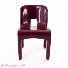 Joe Colombo Kartell Mid Century Plastic Chairs Pair - 1871659