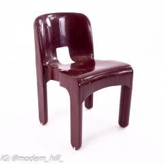 Joe Colombo Kartell Mid Century Plastic Chairs Pair - 1871660