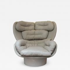 Joe Colombo Rotating Elda armchair Joe Colombo for Comfort Italy circa 1965 - 991926