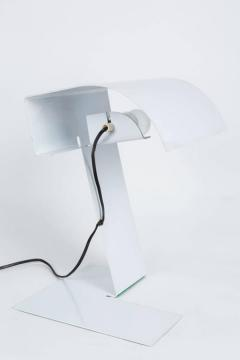Joe Colombo Stilnovo White Blitz Table Lamp circa 1972 - 616421