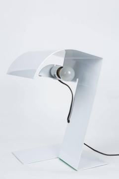 Joe Colombo Stilnovo White Blitz Table Lamp circa 1972 - 616422