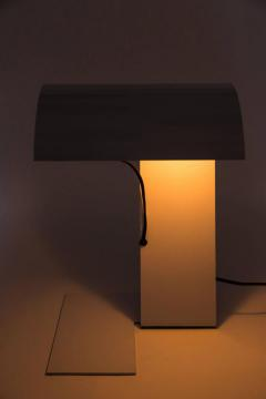 Joe Colombo Stilnovo White Blitz Table Lamp circa 1972 - 616428
