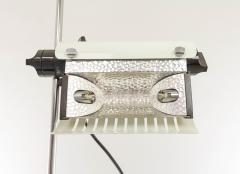 Joe Colombo White adjustable floor lamp Model 626 by Joe Colombo for O Luce 1970s - 693611