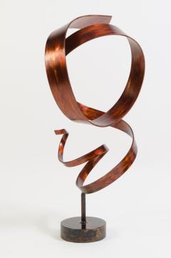 Joe Sorge Hephaestus by Joe Sorge Patinated Steel Sculpture - 244692