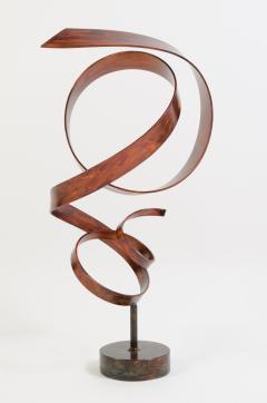 Joe Sorge Hephaestus by Joe Sorge Patinated Steel Sculpture - 244695