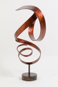 Joe Sorge Hephaestus by Joe Sorge Patinated Steel Sculpture - 244696