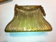 Johann L tz Witwe Pair Art Nouveau Loetz Bronze Mount Vases - 79201