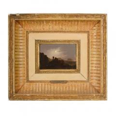 Johann Mongels Culverhouse Johann Mongels Culverhouse Dutch 1820 1891 Camel in Full Moon painting - 2128790