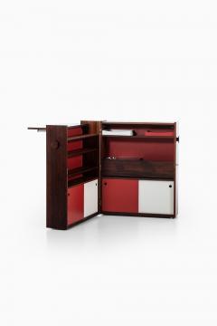 Johannes Andersen Folding Bar Cabinet Produced by Dyrlund - 1860639