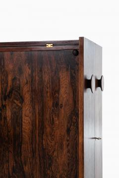 Johannes Andersen Folding Bar Cabinet Produced by Dyrlund - 1860646
