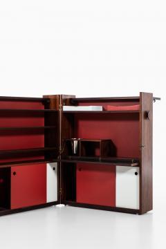 Johannes Andersen Folding Bar Cabinet Produced by Dyrlund - 1860655