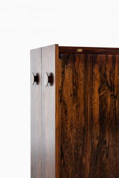 Johannes Andersen Folding Bar Cabinet Produced by Dyrlund - 1860659