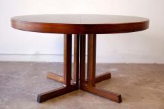 Johannes Andersen Johannes Andersen Rosewood Extension Dining Table Scandinavian Modern 1960s - 1758775