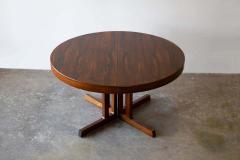 Johannes Andersen Johannes Andersen Rosewood Extension Dining Table Scandinavian Modern 1960s - 1758776
